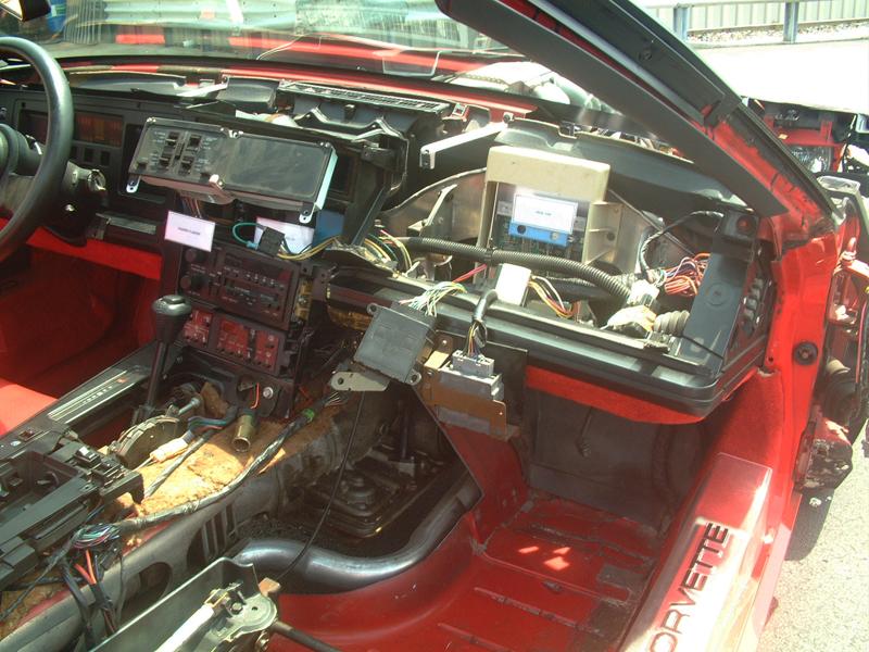 C4 Corvette Cutaway Car Parts Gallery Cc Tech Corvette Blog Restoration And Repair