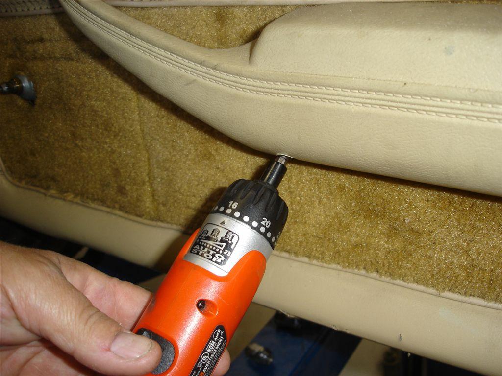 C Door Panel Removal on Corvette Fuel Pump For Ls Swap