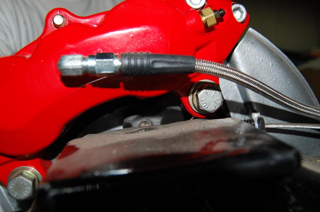 Cc Wilwood Brake Caliper Install on Corvette Brake Proportioning Valve