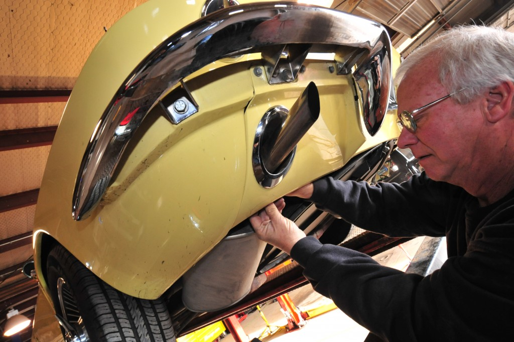 Mikes Used Cars >> Installing Side Pipe Exhaust on a C2 Corvette | CC Tech