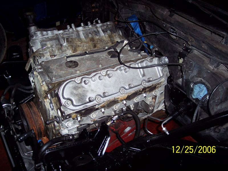 The project started with a used LS1 for engine fitment into the 1985 chassis.