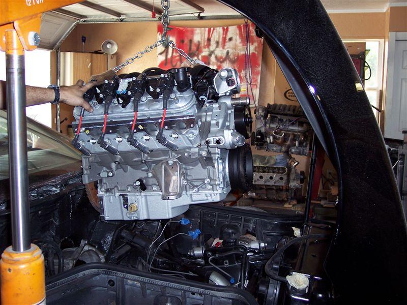 LS Engine Swap for C4 Corvettes | CC Tech
