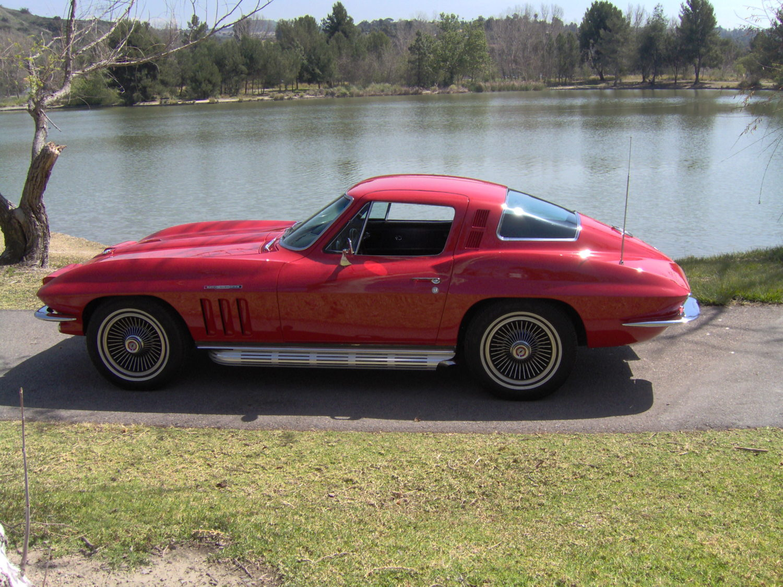 Corvette C Custom Paint