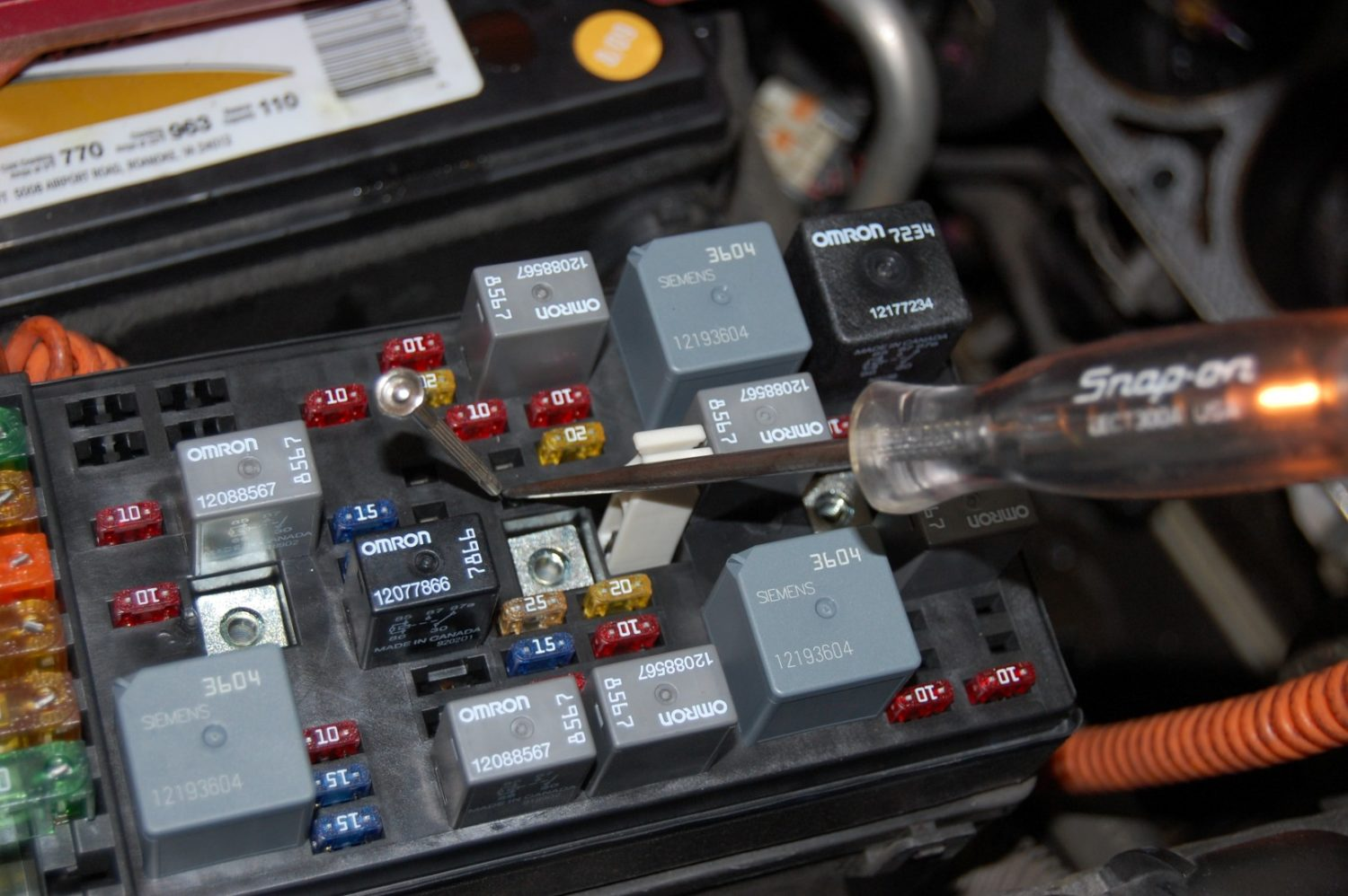 citroen c5 fuse box problems