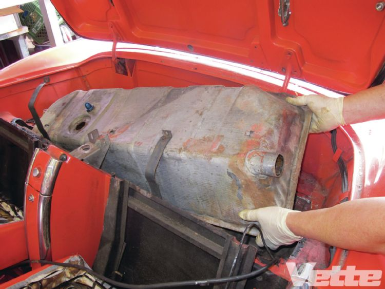 Corvette Central Deluxe C1 Gas Tank Kit Installation Cc Tech