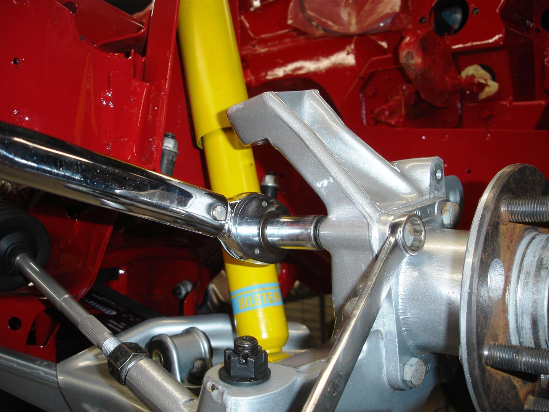 Corvette Front Suspension Bushing Replacement   CC Tech