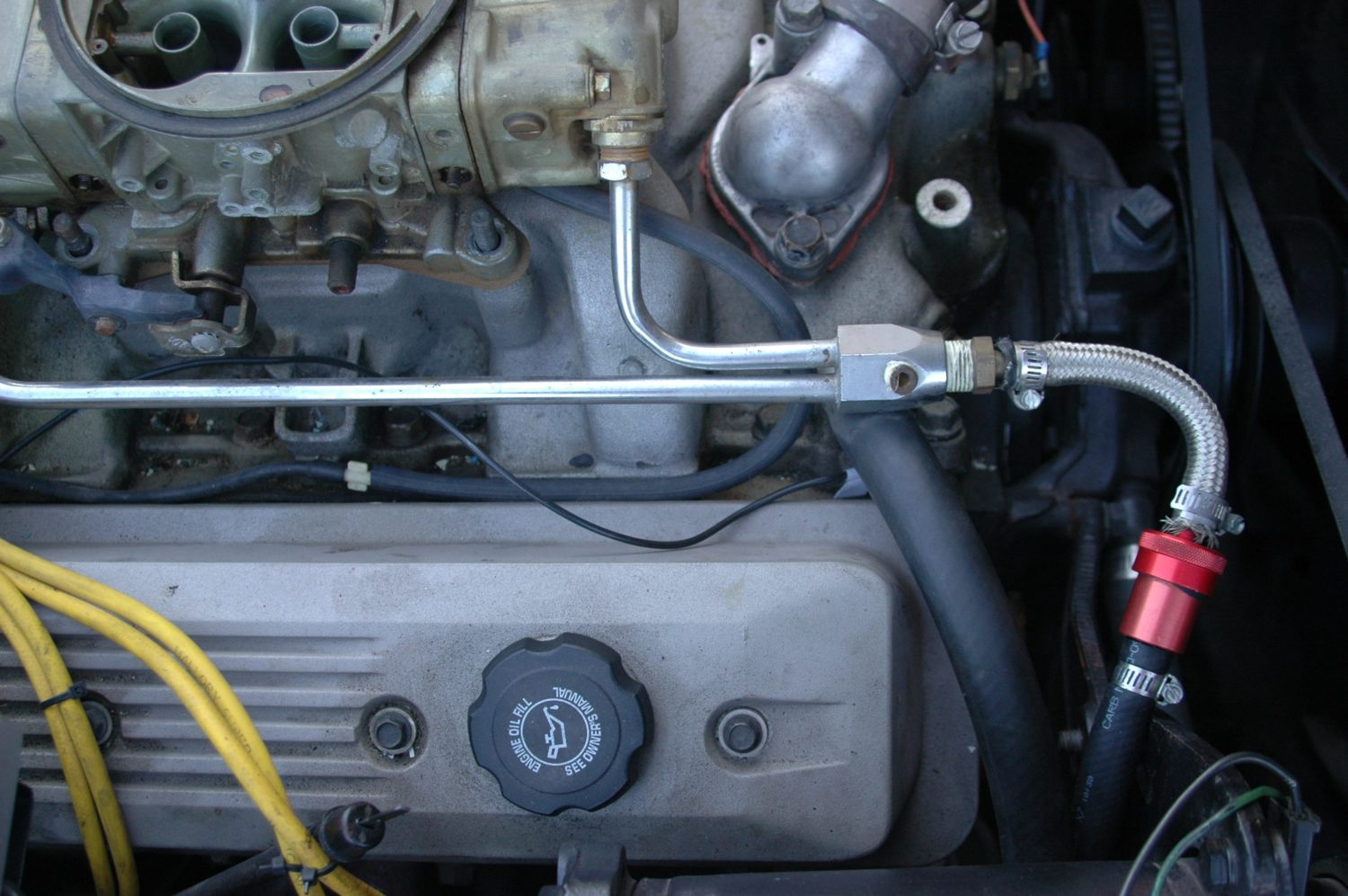 C3 Body Lift Cc Tech Hoist Wiring Harness A Fairly Typically Fuel Feed Arrangement If Your System Is In The Original Configuration Theres No Need To Remove It Prior Pulling