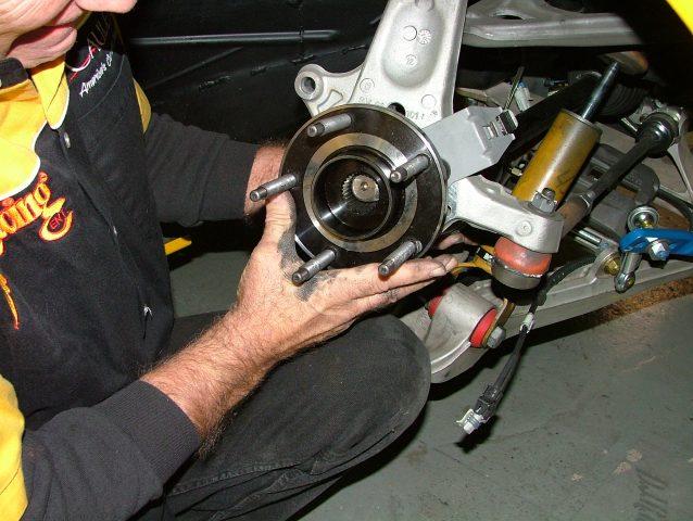 install bearing